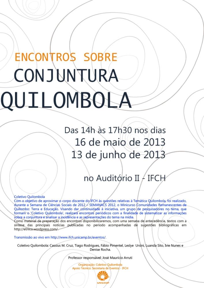 Conjuntura quilombola no Paraná (1/2)